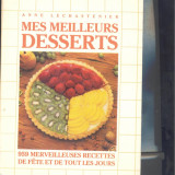 DESERTURI - Mes meilleurs desserts,  -chef ANNA LECHASTENIER -