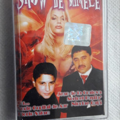 SHOW DE MANELE-  CASETA AUDIO