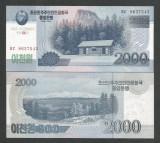 COREEA DE NORD   2000 2.000  WON 2008 2013  UNC  P-CS 16  pentru  colectionari