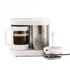 Cafetiera Bodum French Press Bistro 480W White - Infuzor ceai