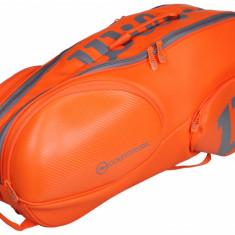 Wilson Vancouver 9 2017 geanta rachete portocaliu - Geanta tenis
