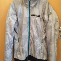 Geaca Canada Adidas Terrex Skyclimb Alpha Jacket 100% Original UK12 - Geaca dama Adidas, Marime: 40, Culoare: Argintiu, Poliester