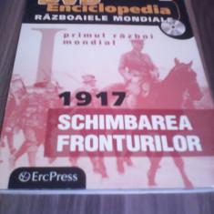 DVD ENCICLOPEDIA RAZBOAIELE MONDIALE VOL 4 -1917 SCHIMBAREA FRONTURILOR, Romana