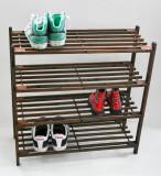 Suport din lemn cu 4 etajere pt pantofi - Pantofar - Raft Pantofi - Nou
