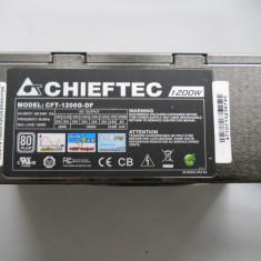 Sursa Modulara 1200 W Chieftec Super CFT-1200G-DF. - Sursa PC Chieftec, peste 1000 Watt