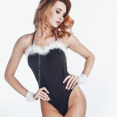 Costum Sexy Bunny, Marime: Marime universala, Culoare: Negru