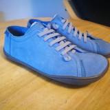 Pantofi camper albastri 37