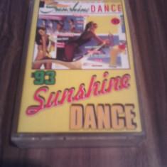 CASETA AUDIO VARIOUS-SUNSHINE DANCE '93 ORIGINALA EUROSTAR RARITATE!!!!