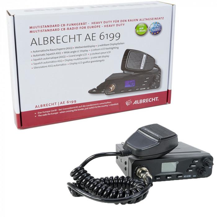 Aproape nou: Statie radio CB Albrecht AE 6199 Cod 12699 foto mare