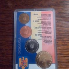 2005.06.01 - SET DE MONETĂRIE, monede în circulaţie în anul 2005