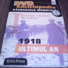 DVD ENCICLOPEDIA RAZBOAIELE MONDIALE VOL 5 -1918 ULTIMUL AN, Romana