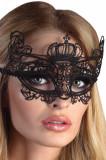 Mască din Dantelă Mabel Neagra, Negru