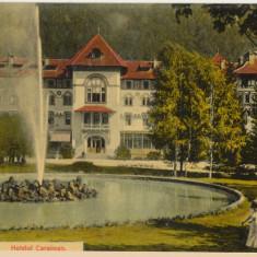 CFL aproximativ 1906 ilustrata SINAIA jud Prahova - hotel Caraiman