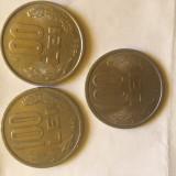 Vand doua Monede de 100 lei cu Mihai Viteazul din anul 1992 si o moneda din 1984 - Moneda Romania
