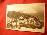 Ilustrata Muntii Bistritei- Rarau - Cabana CCS ,circulat 1956
