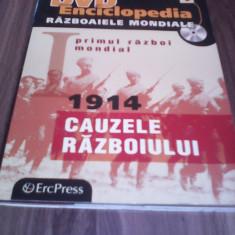 DVD ENCICLOPEDIA RAZBOAIELE MONDIALE VOL 1 -1914  CAUZELE RAZBOIULUI, Romana