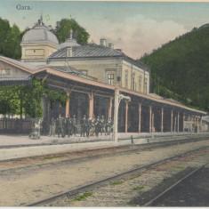CFL aproximativ 1906 ilustrata SINAIA jud Prahova - gara regala