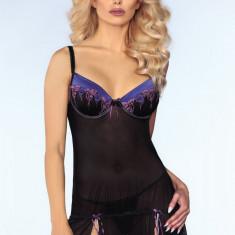 Neglijeu Sexy Ebony LivCo, Marime: M, L