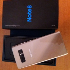 Vand samsung galaxy note8 - Telefon Samsung, Auriu, 64GB, Neblocat, Single SIM