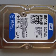 HDD 500Gb 3, 5 inch Western Digital Blue Sata 3 Desktop. - Hard Disk Western Digital, 500-999 GB, Rotatii: 7200