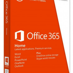 Microsoft Office 365 Home - PC si Mac - 5 dispozitive - in limba Romana sau Engleza - Aplicatie PC