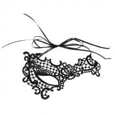 Mască din Dantelă Malina, Culoare: Negru