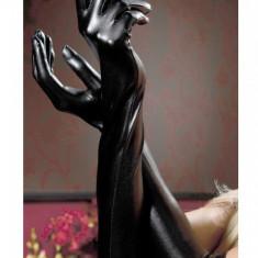 Mănuși Adora din Latex, Culoare: Negru