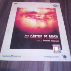 FILM CU CARTILE PE MASA COLECTIA SAPTAMANA FINANCIARA ORIGINAL - Film Colectie, DVD, Romana