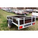 Remorca 750kg mono/dublu ax Platforma,Apicola Peridoc, ,Inchirieri
