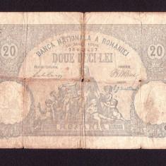ROMANIA -  20 lei - 18 Mai 1906