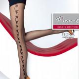 Dresuri cu Model Peonia FIore, Culoare: Negru