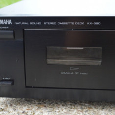 Deck Yamaha KX- 380 - Deck audio