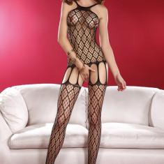 Lenjerie Sexy Saori LivCo, Marime: Marime universala, Culoare: Negru