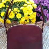 POSETA VINTAGE DIN PIELE, CALITATE SUPERIOARA. - Geanta vintage