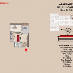 Garsoniera 44 mp Brasov - Garsoniera de vanzare, An constructie: 2017, Mansarda