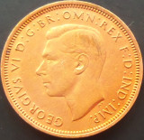 Moneda istorica Half Penny - ANGLIA, anul 1943  *cod 3490  --- GEORGIVS VI-lea, Europa