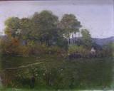 NICOLAE ANGELESCU -ANGE , PEISAJ