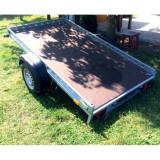 Platforma/Remorca auto 750 kg mono ax 240x135x10 *in rate *pe stoc - Utilitare auto