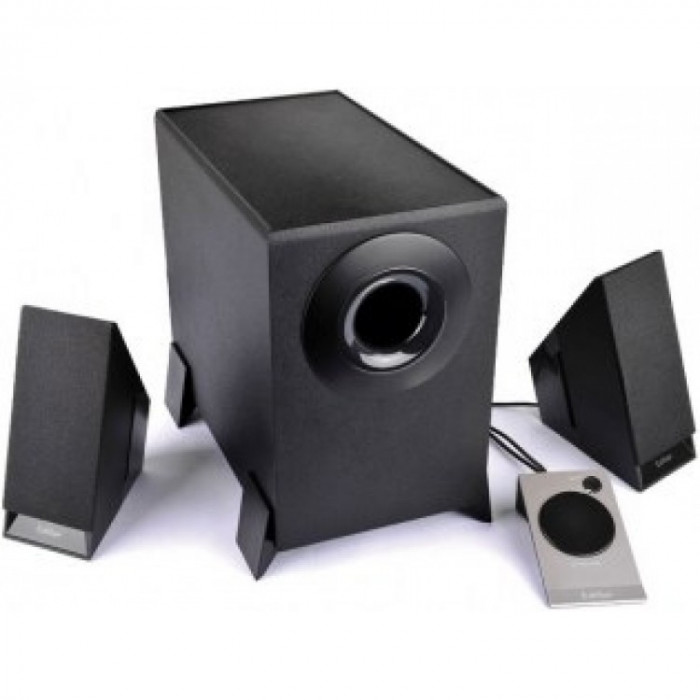 Sistem audio Edifier M1360 , putere RMS 8.5W , Negru foto mare