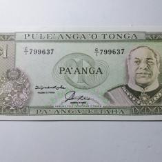Tonga 1 paanga 1992 UNC