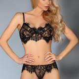 Set Sexy din Dantelă Pallas LivCo - Chiloti dama, Marime: S/M, L/XL