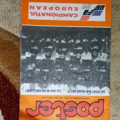 Poster Romania Campionatul european 1984