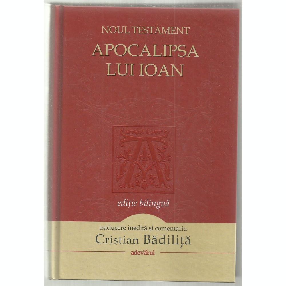 Noul Testament Apocalipsa Lui Ioan Arhiva Okaziiro