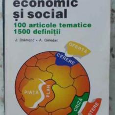 Dictionar Economic Si Social - J. Bremond, A. Geledan, 406507 - Carte Marketing