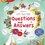 Lift-the-flap Questions and Answers - Carte Usborne (5+) - Carte educativa