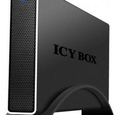 """Carcasa externa HDD Icy Box 3, 5"""" USB3.0, negru - Rack HDD Raidsonic"""