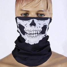Cagula/ bandana schelet (schi/ snowboard/motocicleta/ cilclism); bandana skull - Cagula moto