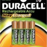 Acumulatori Duracell AAA(R3) de 800mAh set 4 bucati - Stay Charged - Baterie Aparat foto Duracell, Tip AAA (R3)