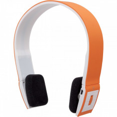 Manhattan Bluetooth Stereo Headset FreeStyle, with microphone, orange