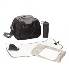 Geanta Multifunctionala Neagra cu Accesorii Incluse - Geanta plimbare copii
